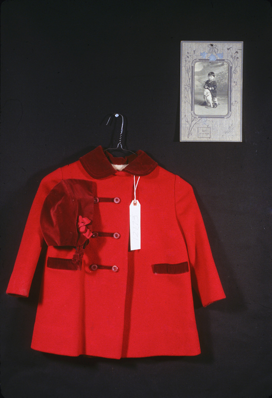 Coat with Tag