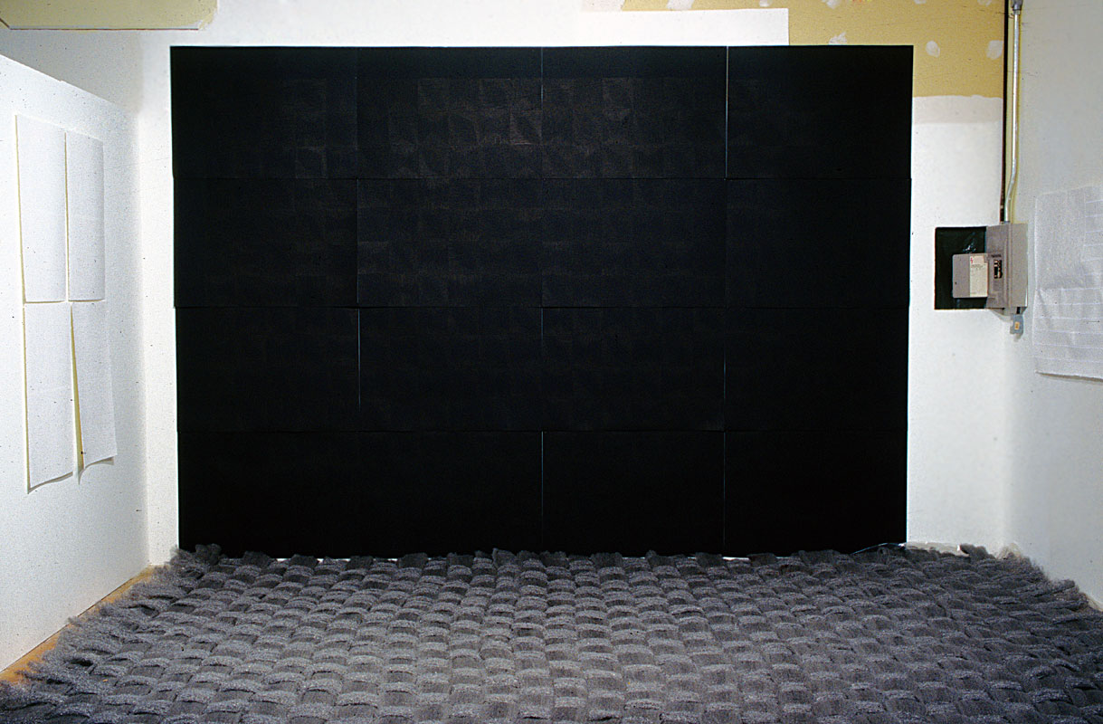 Untitled Room, Brush Marks & Rug