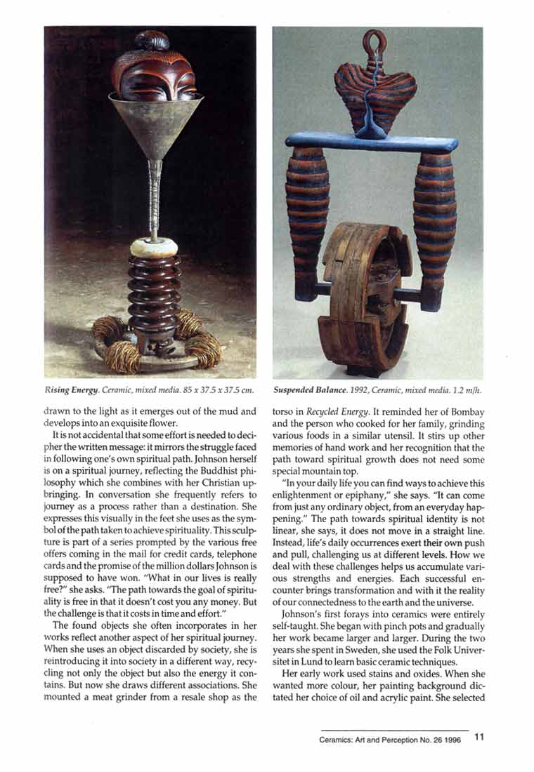 Indira Freitas Johnson: Journey of an Artist, article, pg 2