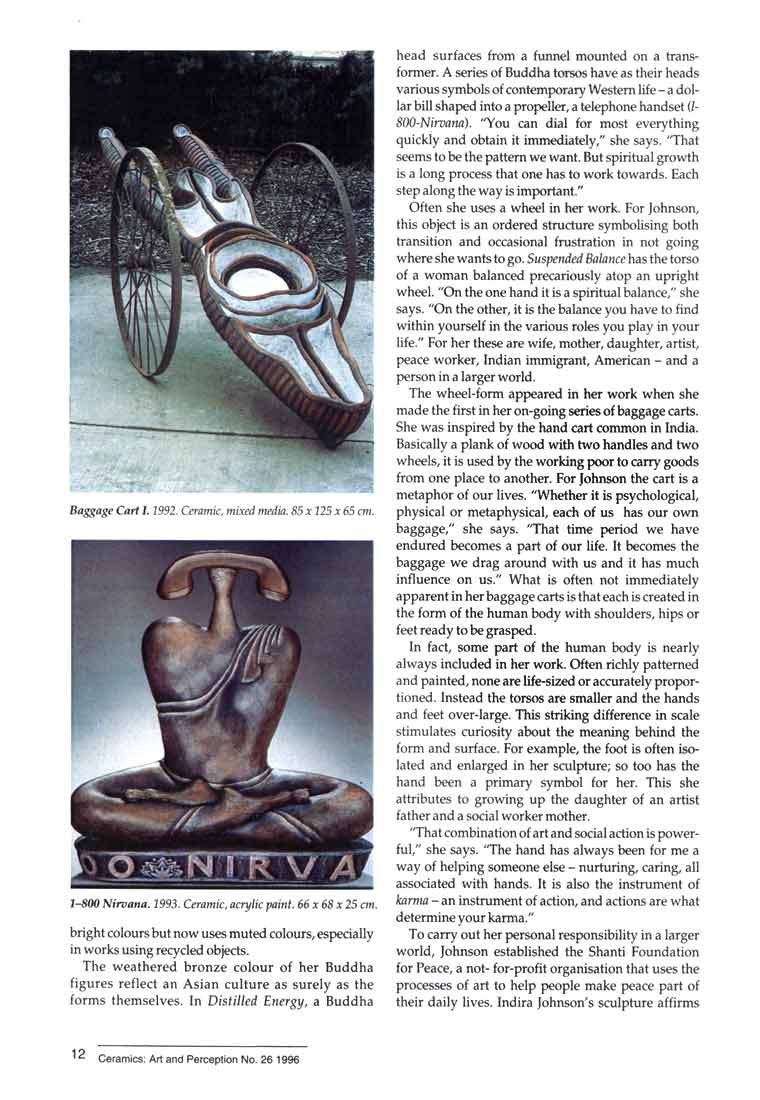 Indira Freitas Johnson: Journey of an Artist, article, pg 3