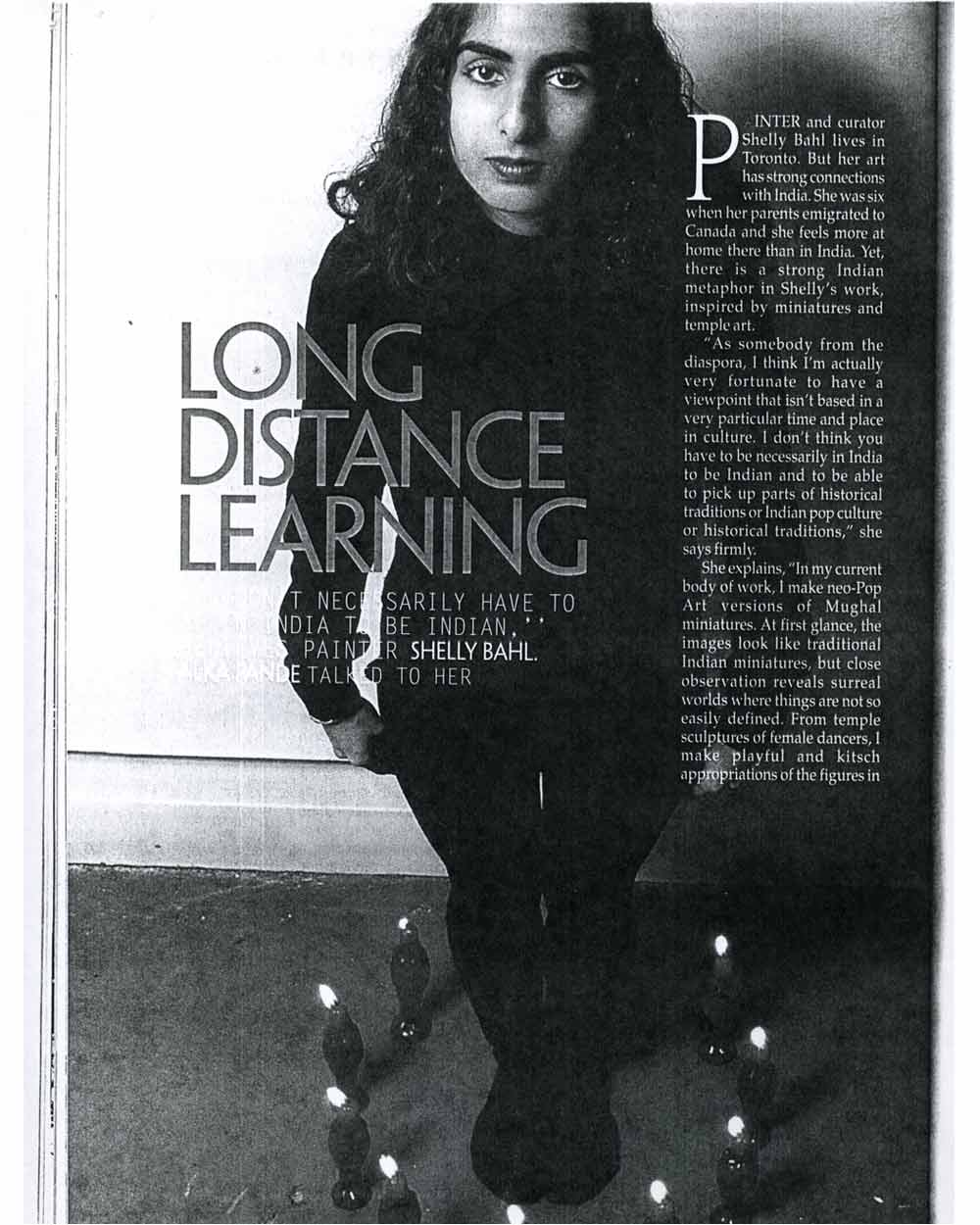 Long Distance Learning, pg 1