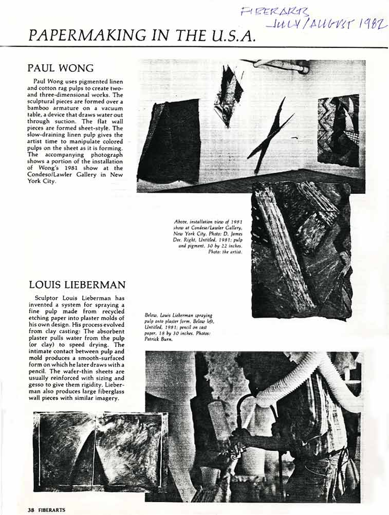 Papermaking in the U.S.A.