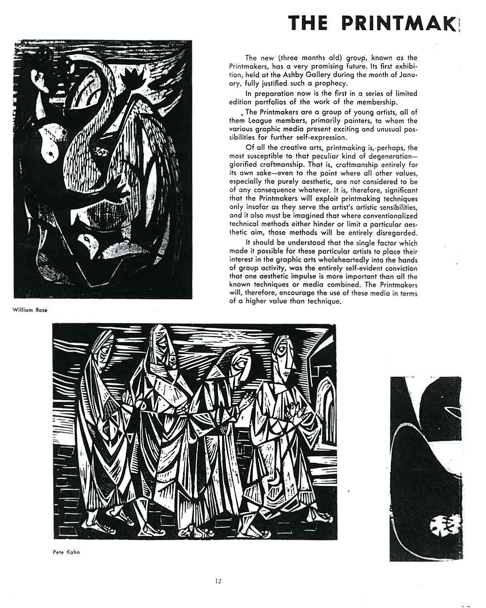 The Printmakers, pg 1