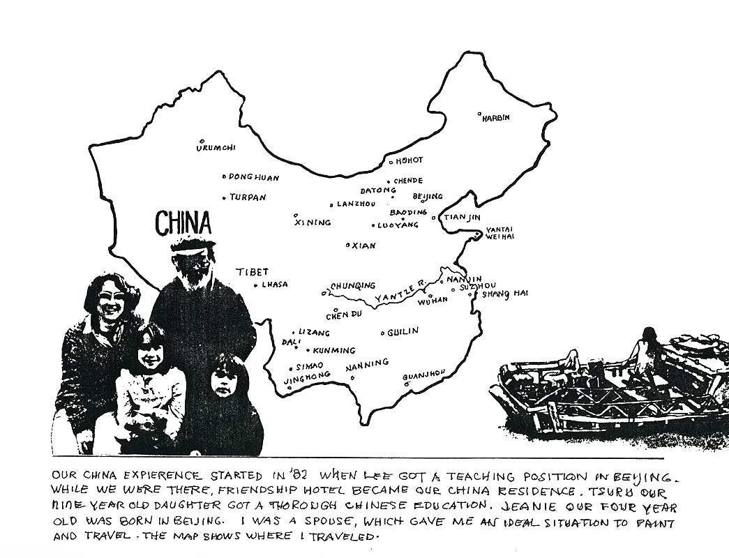 U.S. Artist's Visual Reactions to China, article, pg 5