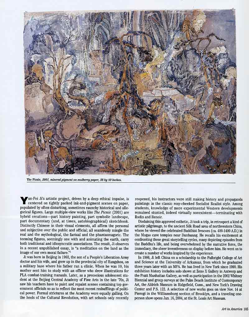 Yun-Fei Ji: Moral Vistas, article, pg 2