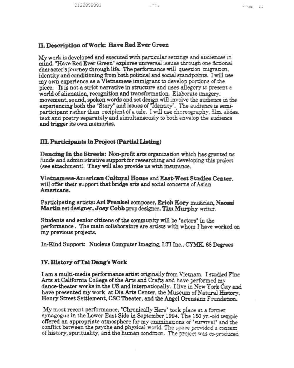 Tai Dang's Proposal, pg 2