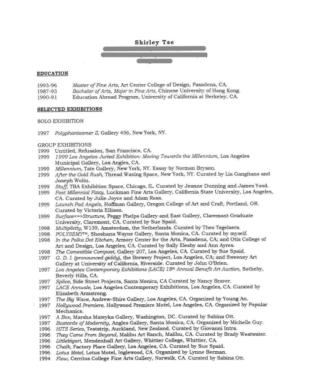 old version old version sample resume template for education – Artist Resume