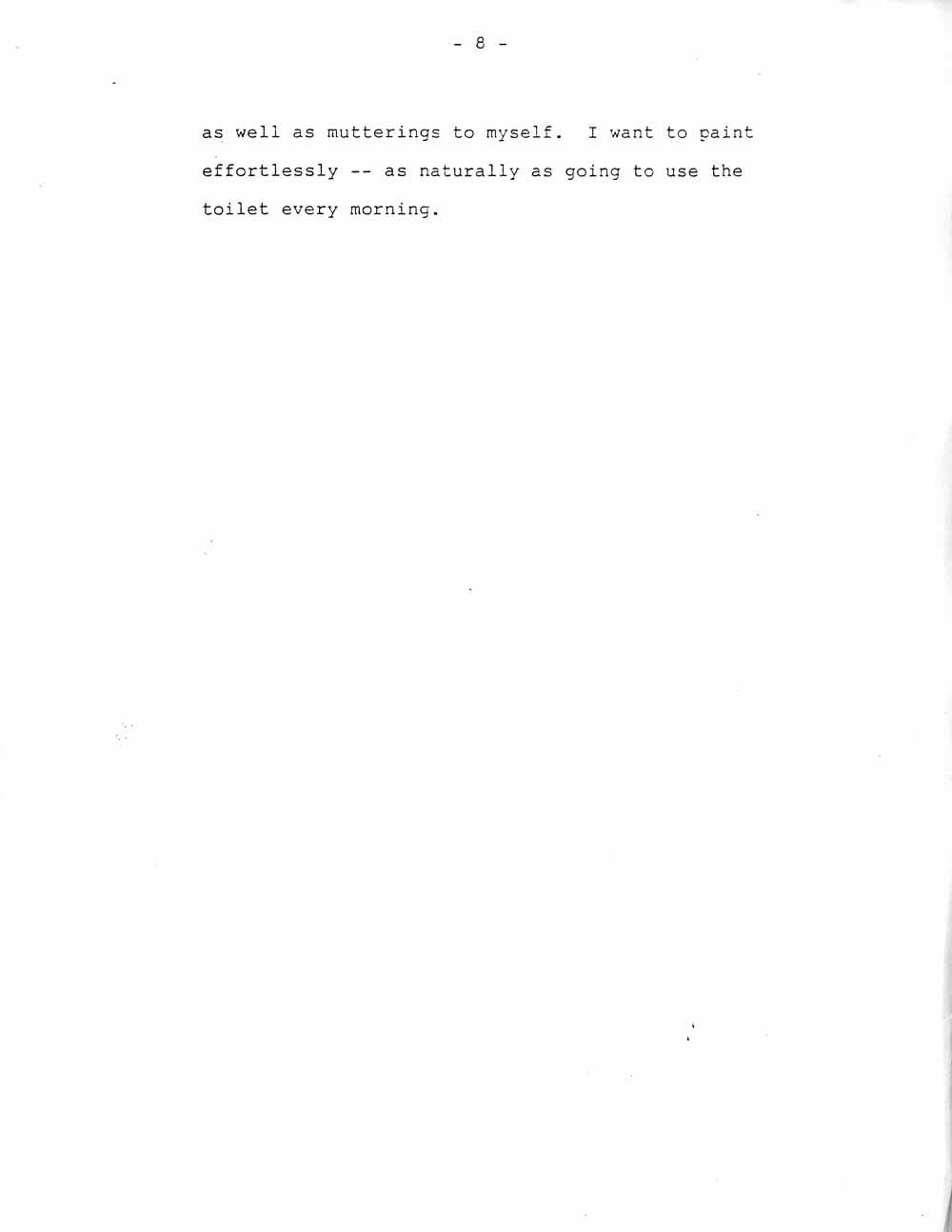 Ik-Joong Kang's Artist Statement, pg 8