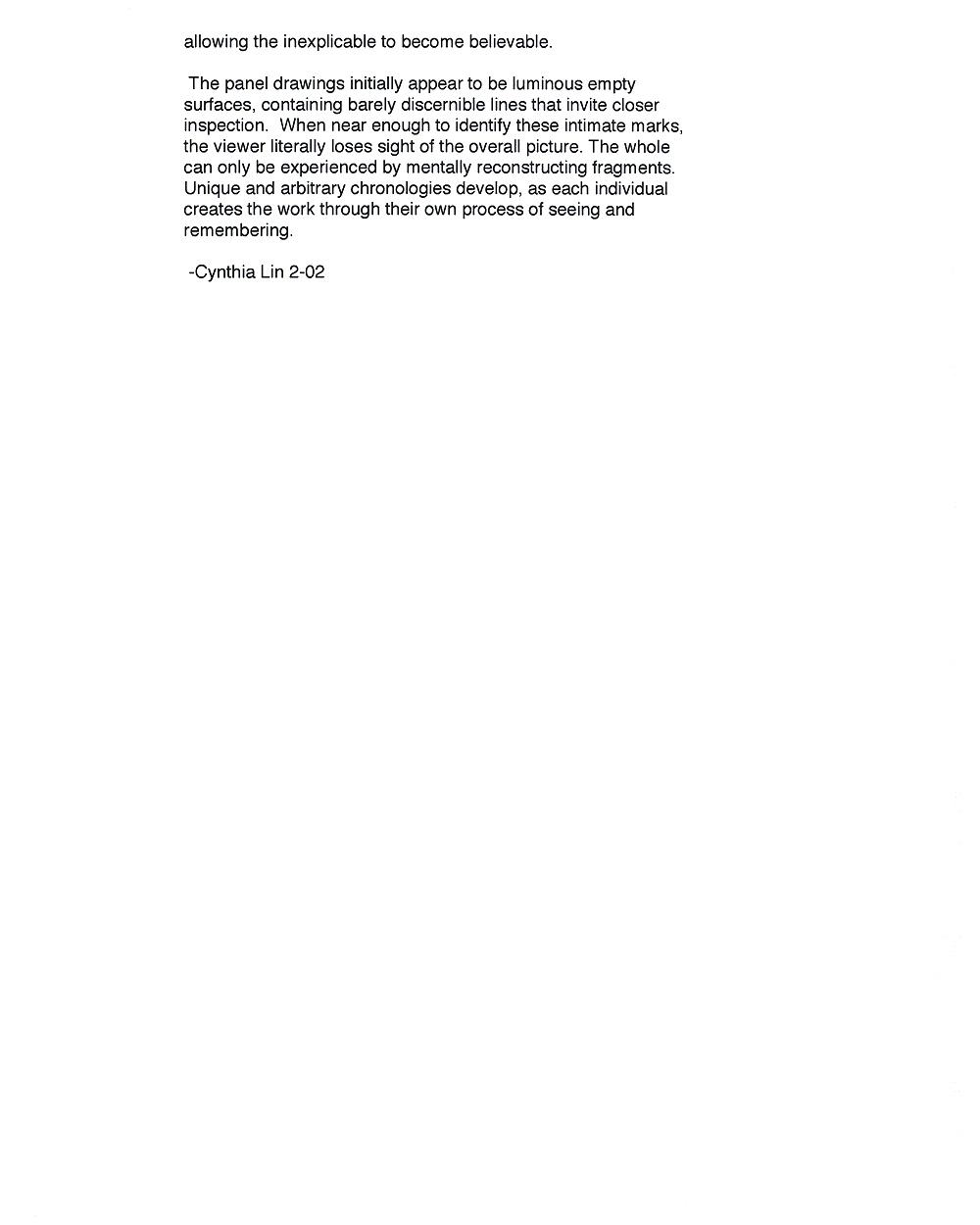 Cynthia Lin's Artist Statement (2), pg 3