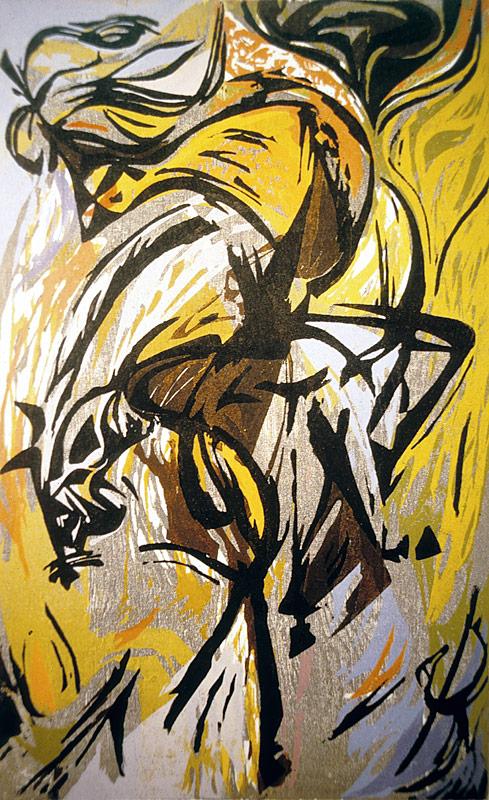 Classical Horse & Rider