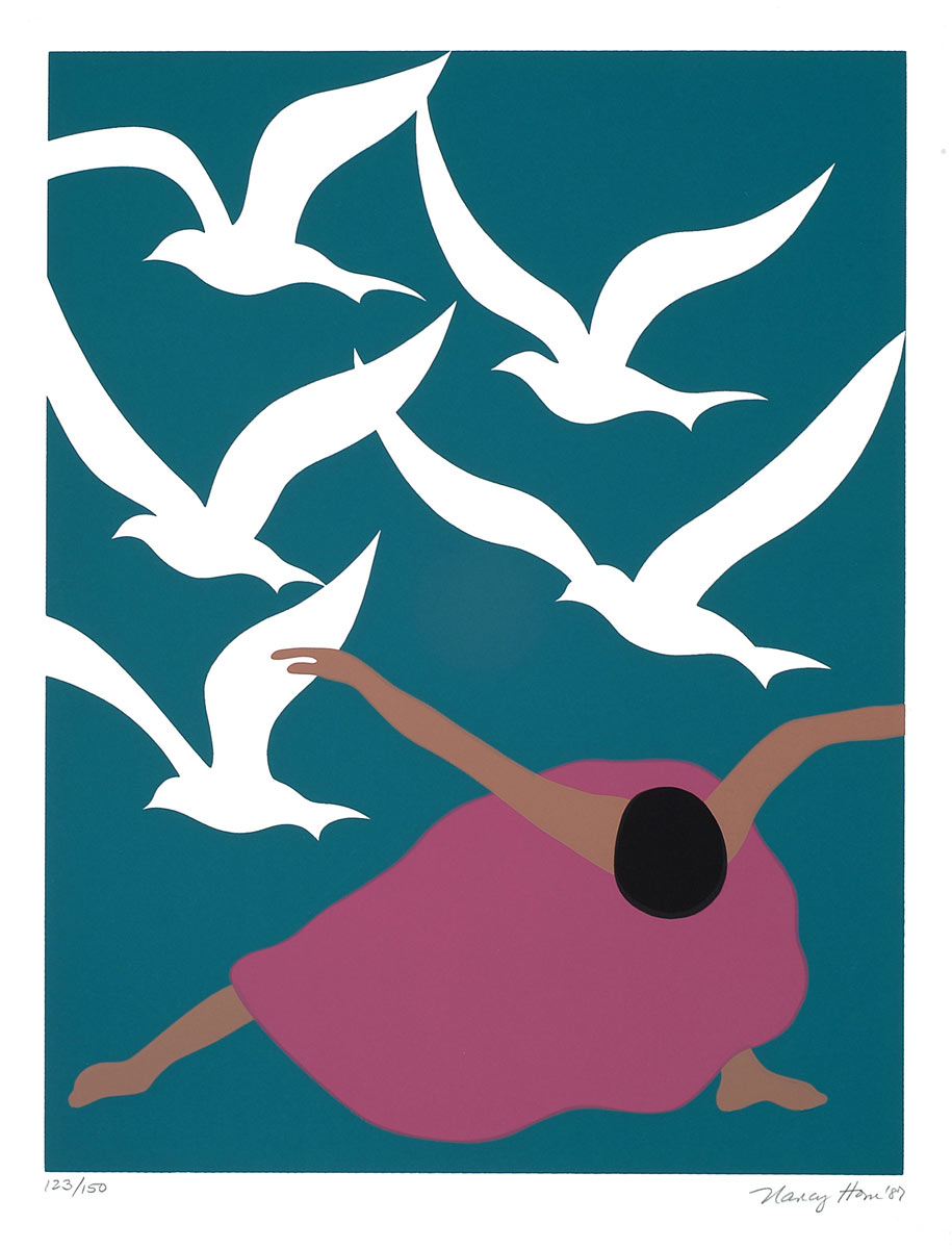 Dancer with Birds