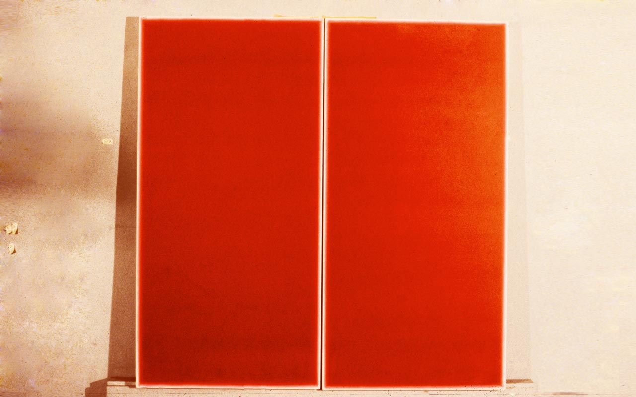 Double Red (Study for Savelli)