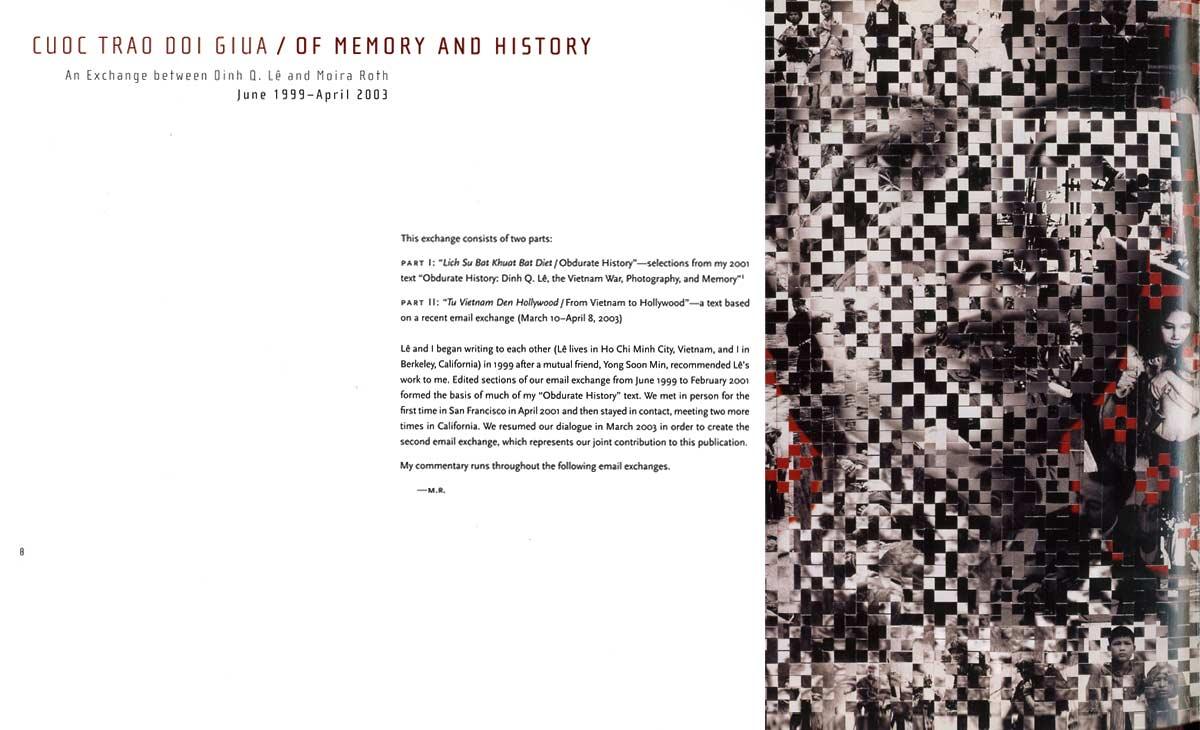 Memory and History, pg 1