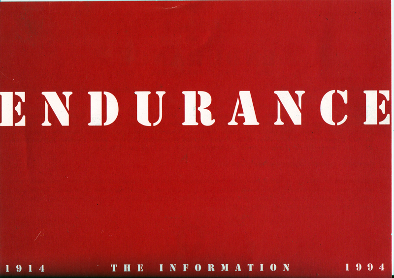 Endurance: The Information 1914-1994