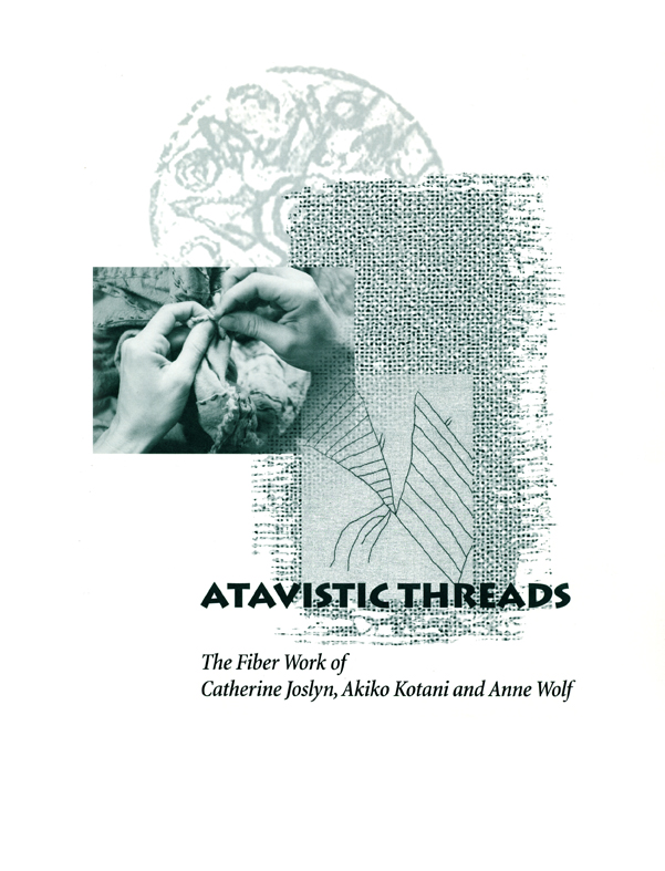 Atavistic Threads, catalog, cover