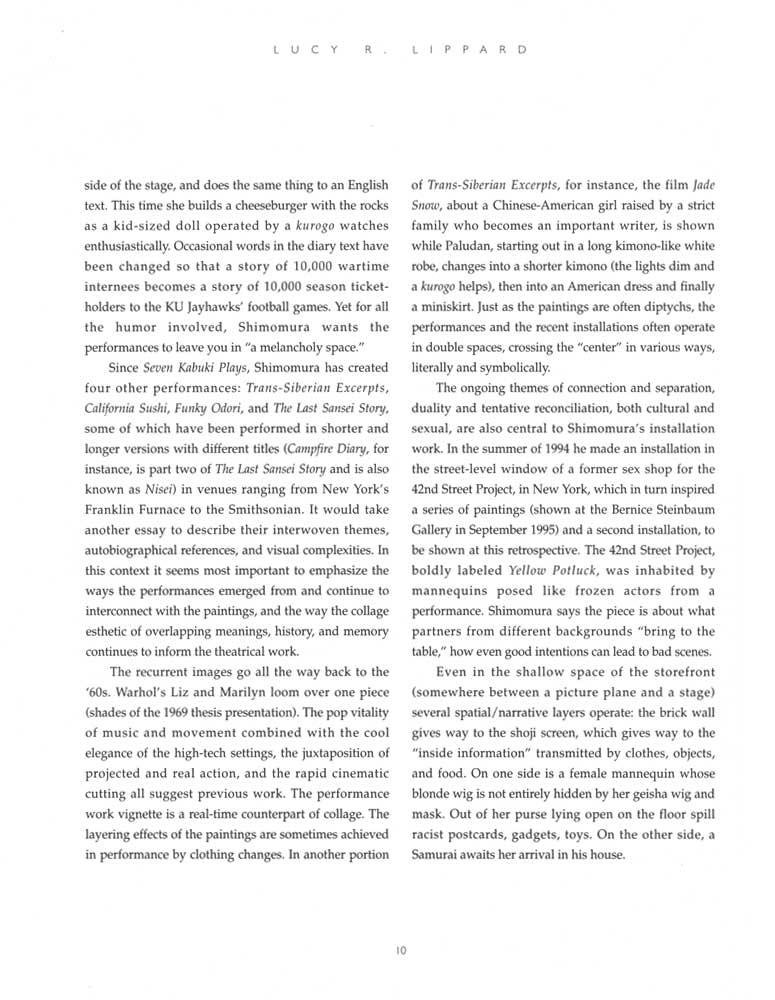 Delayed Reactions, brochure, pg 10