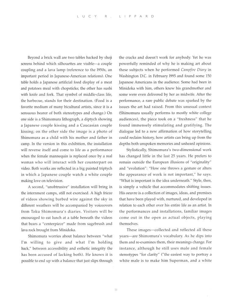 Delayed Reactions, brochure, pg 11