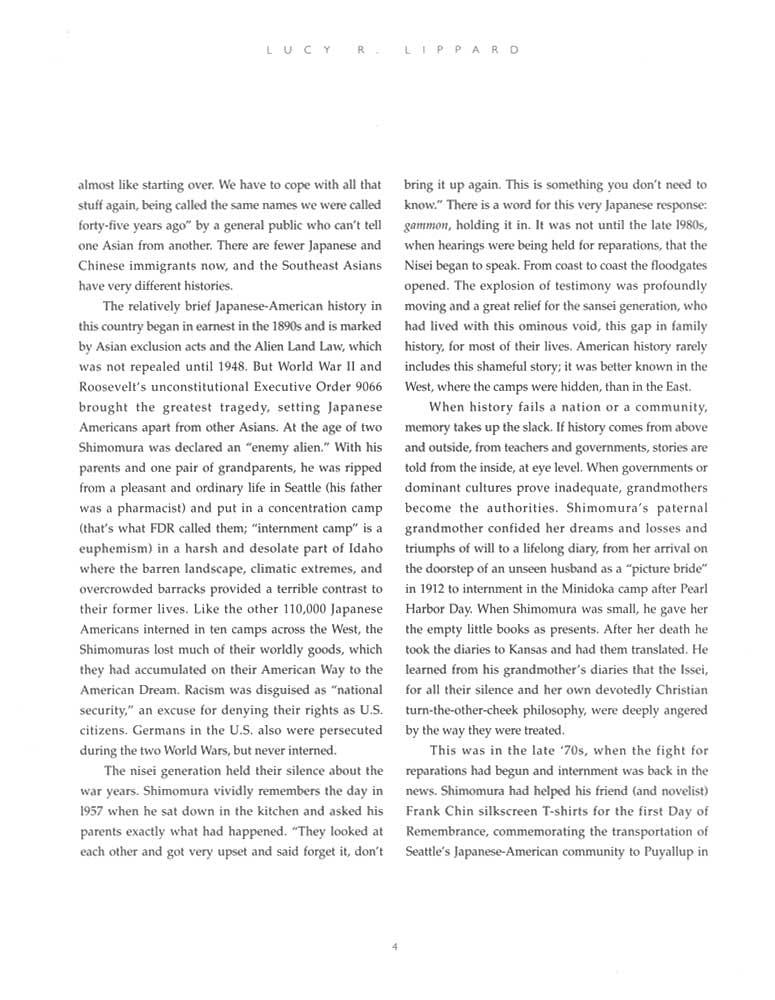 Delayed Reactions, brochure, pg 4