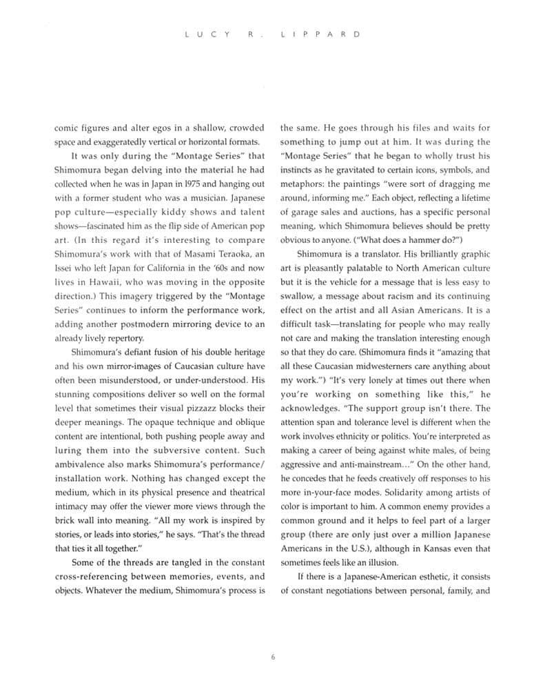 Delayed Reactions, brochure, pg 6