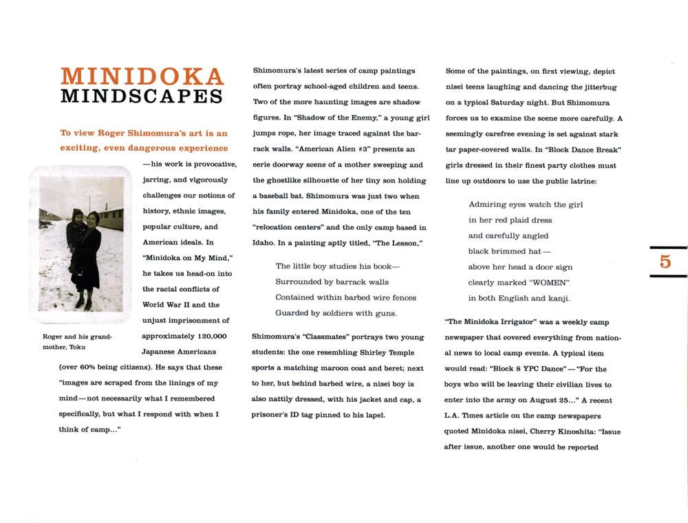 Minidoka: Mindscapes
