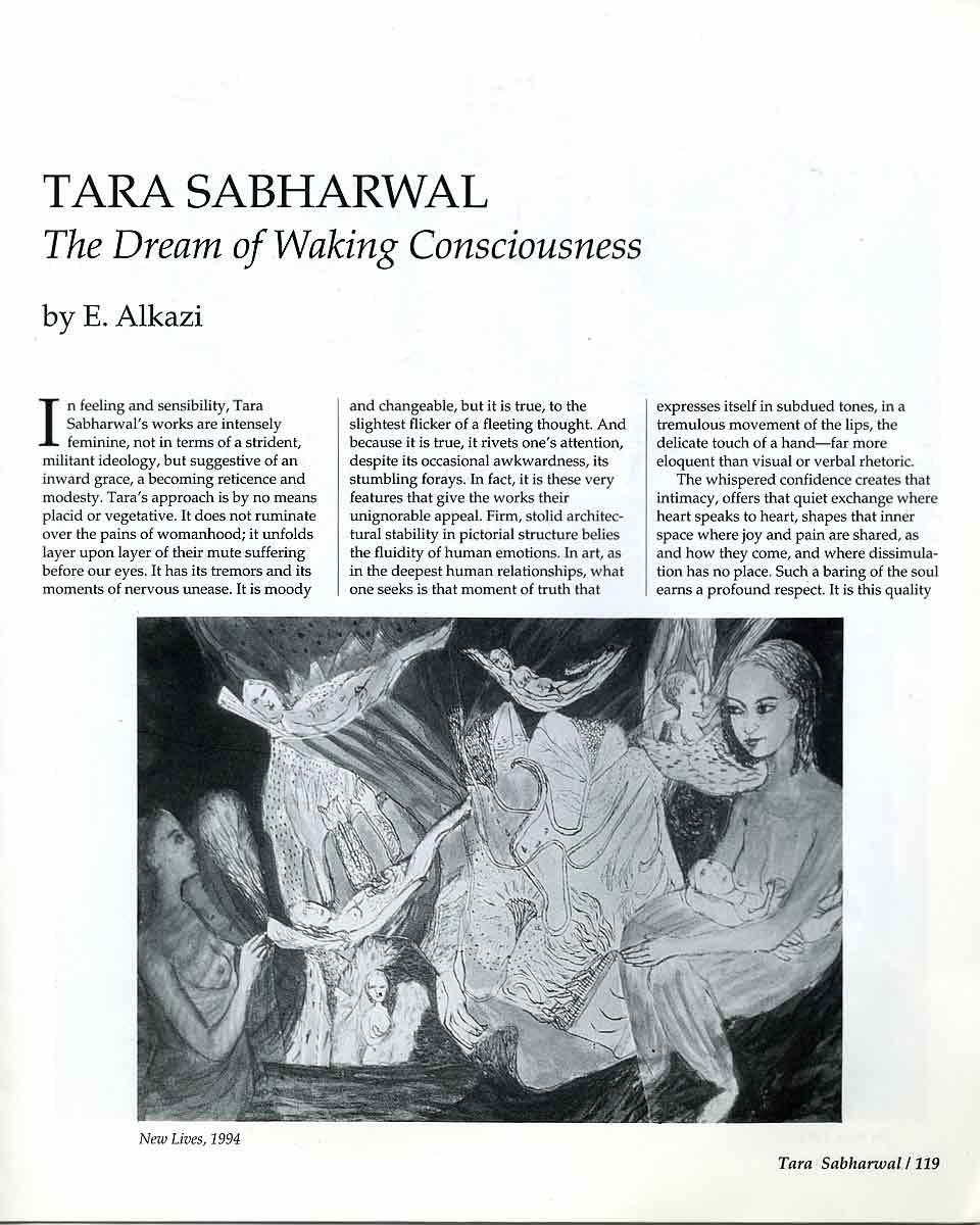 Tara Sabharwal, essay, pg 2