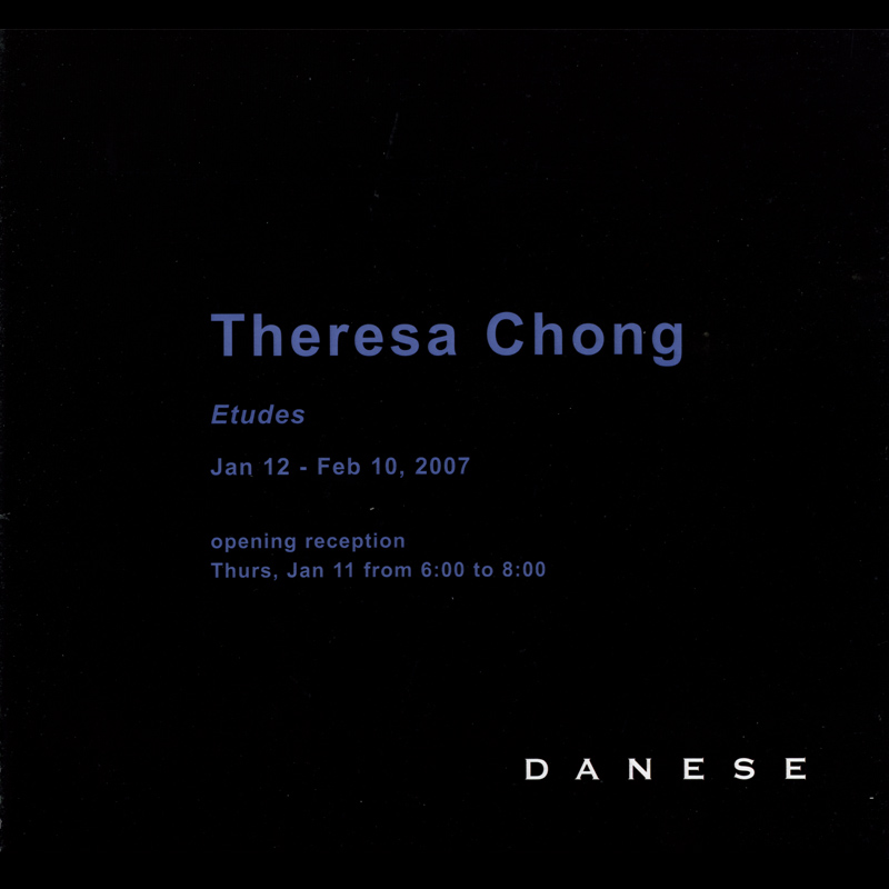 Theresa Chong: Etudes, title page