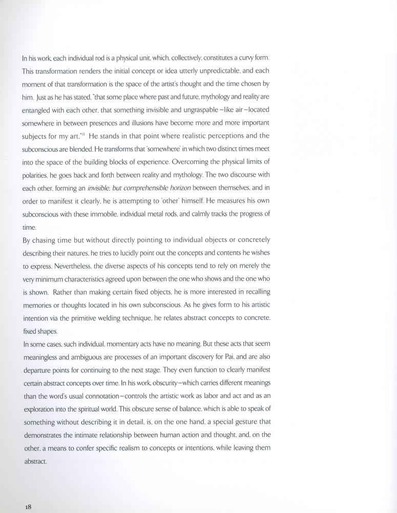 John Pai Sculpture: Poetics of Space, pp. 18