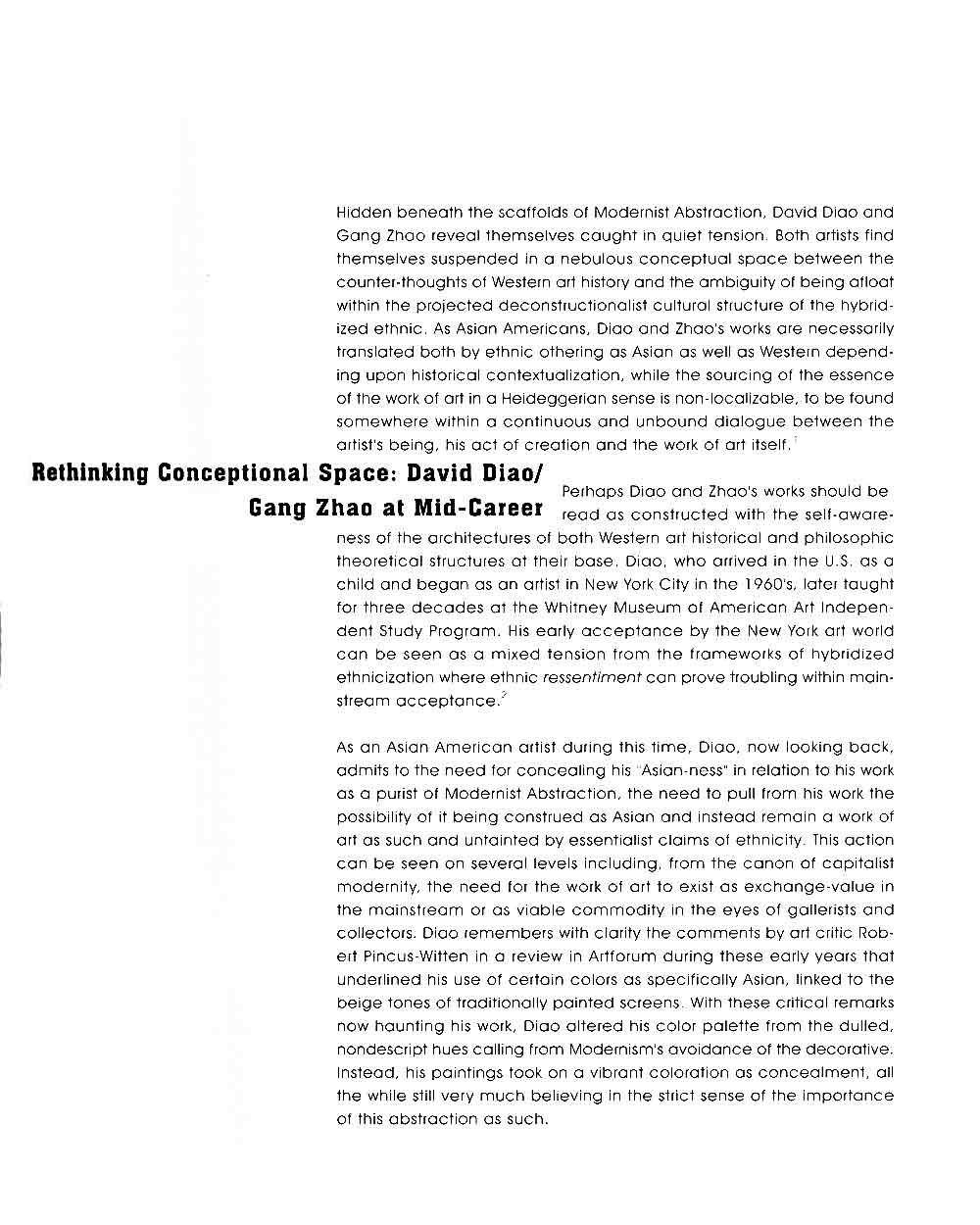 Rethinking a Conceptual Space, pg 2