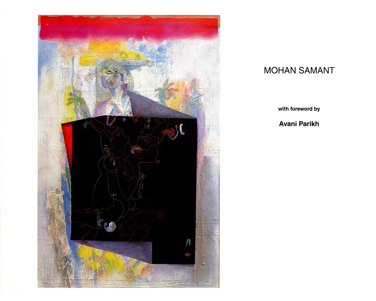 Mohan Samant, catalog, cover