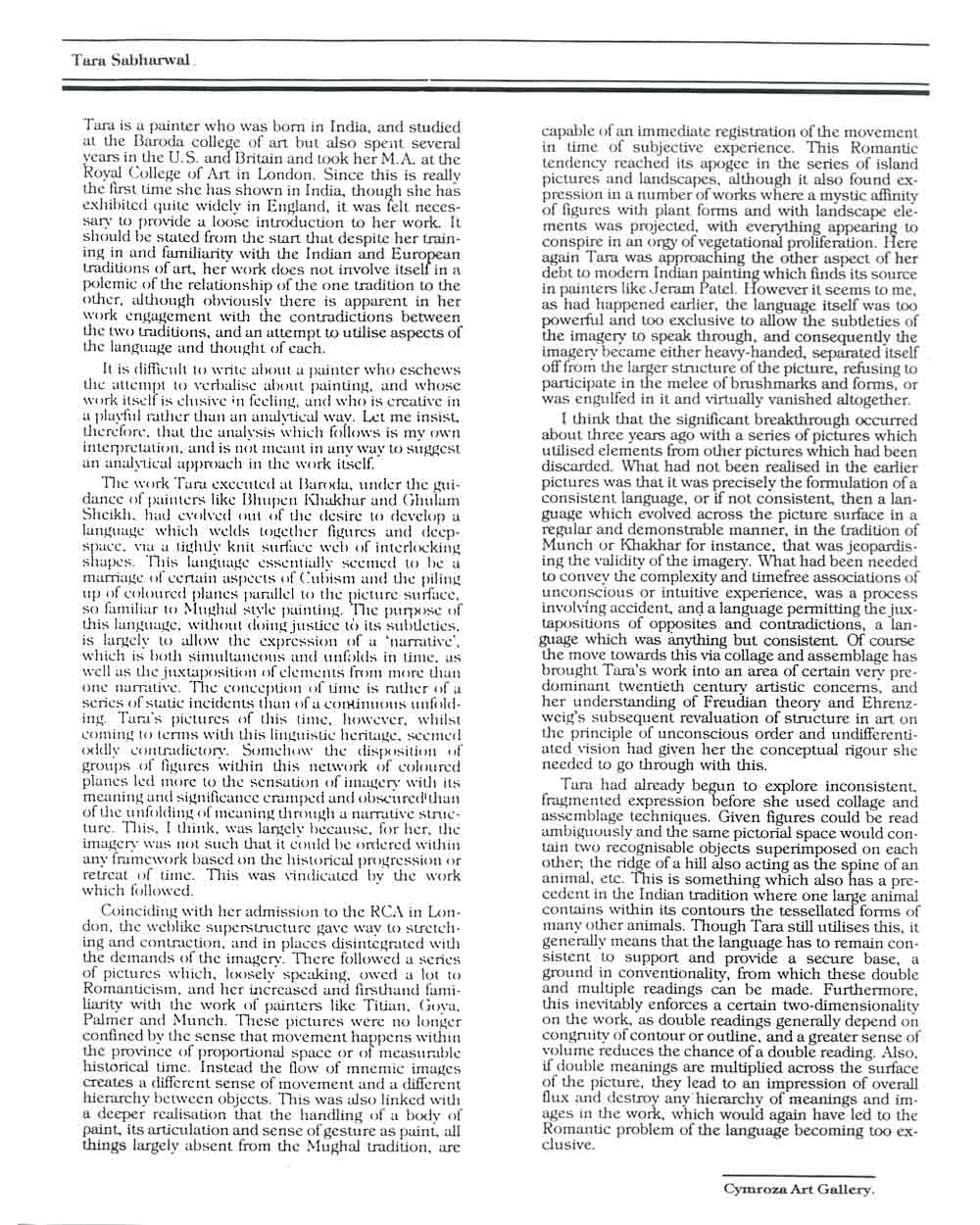 asian american essay sabharwal tara selected document a digital  sabharwal tara selected document a digital essay by ivan prescott pg 1