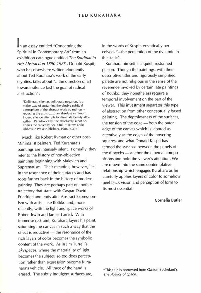 Ed Clark Carol Haerer Ted Kurahara, brochure