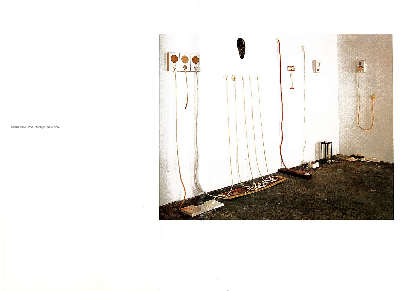 Mikyung Kim, catalog, studio view