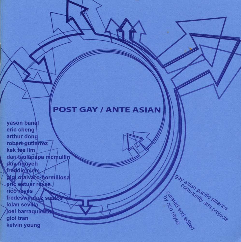 Post Gay / Ante Asian, catalog, cover