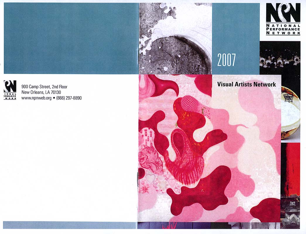 Visual Artists Network 2007, pg 1