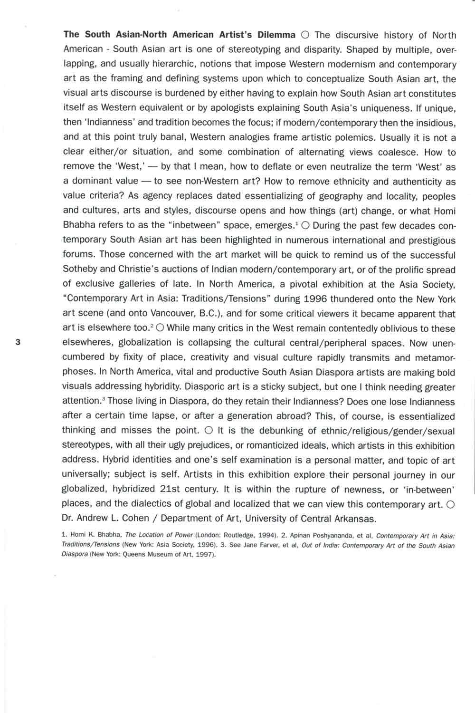 South Asian Diaspora brochure, pg 3