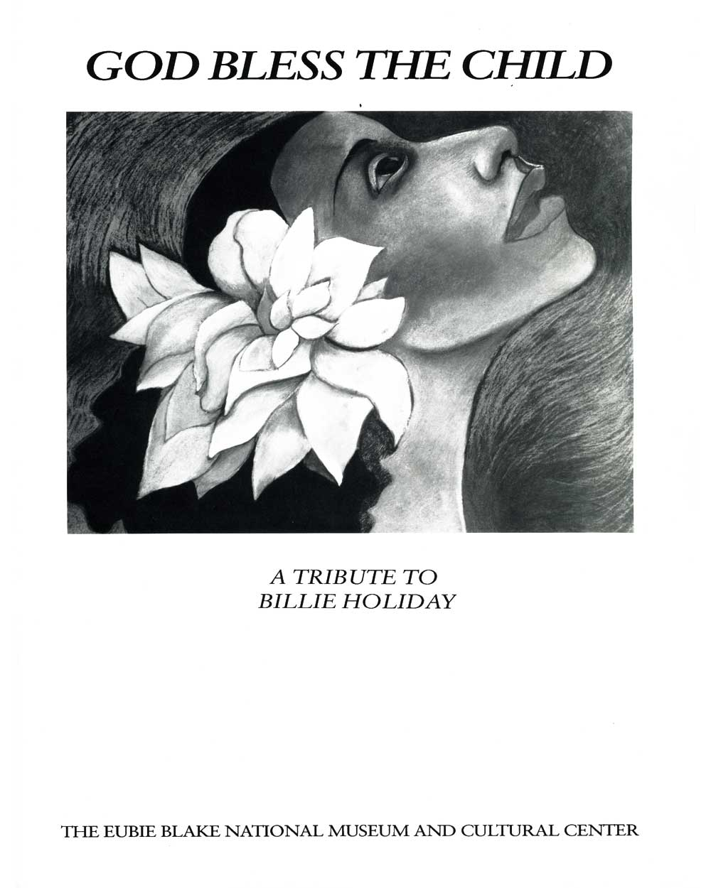 God Bless the Child, exhibition catalog, cover
