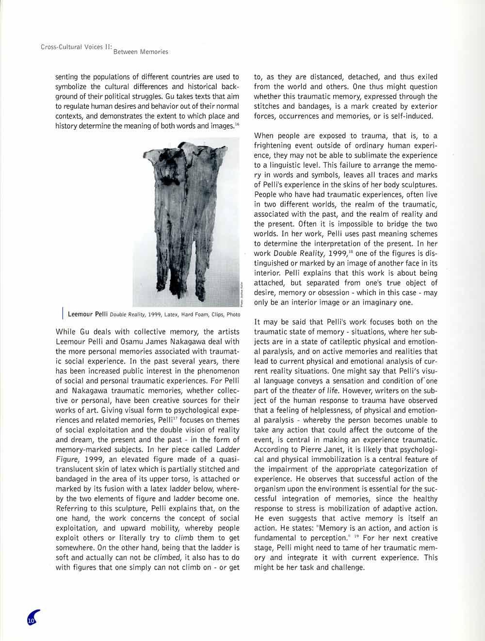 Cross-Cultural Voices II, exhibition catalog, pg 7