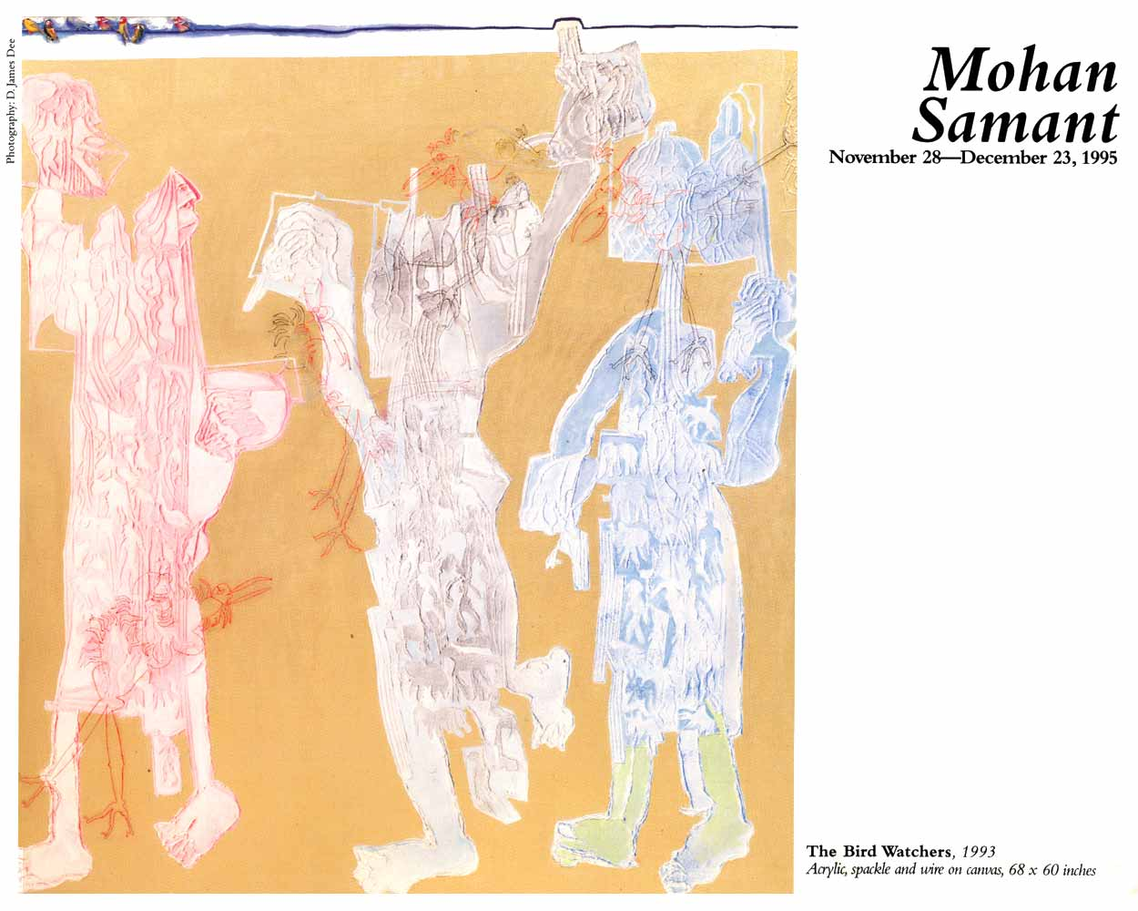 "Excerpts from exhibition leaflet for ""Mohan Samant"", Gallery B.A.I."