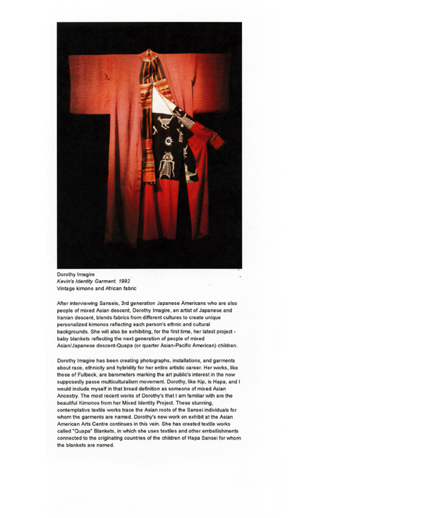 Mixed Skin, press release, pg 2