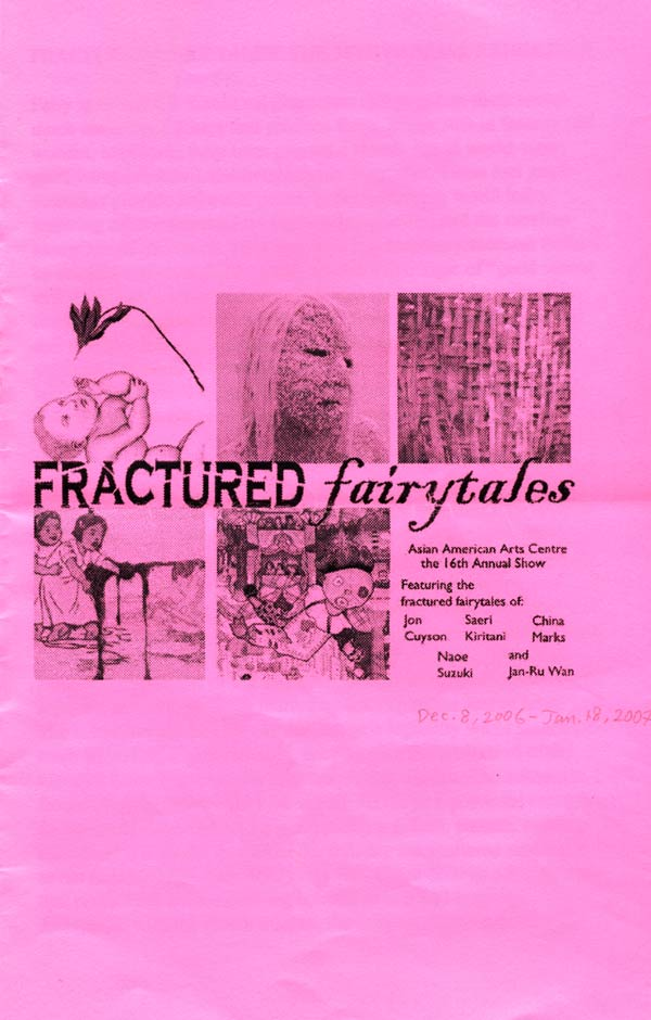 Fractured Fairytales, brochure, pg 1