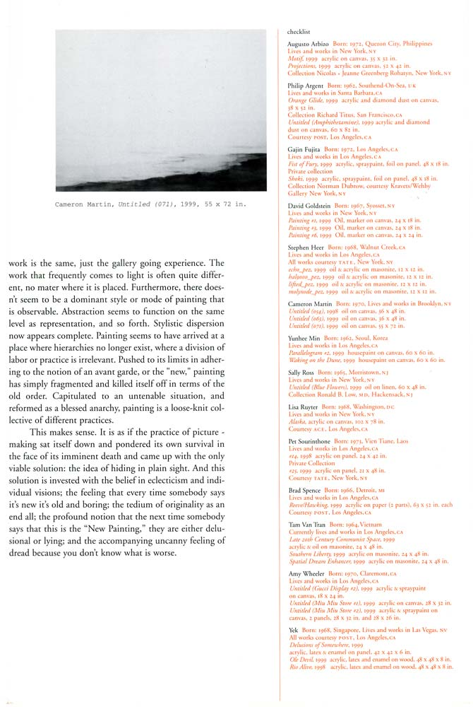 Other Paintings brochure, pg 7
