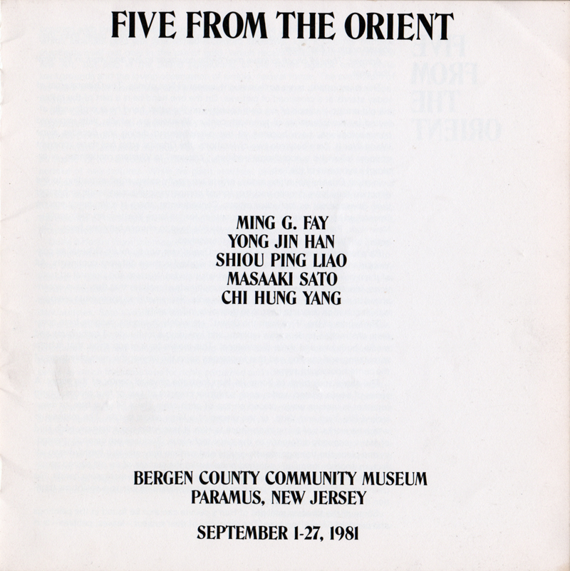 Five From The Orient