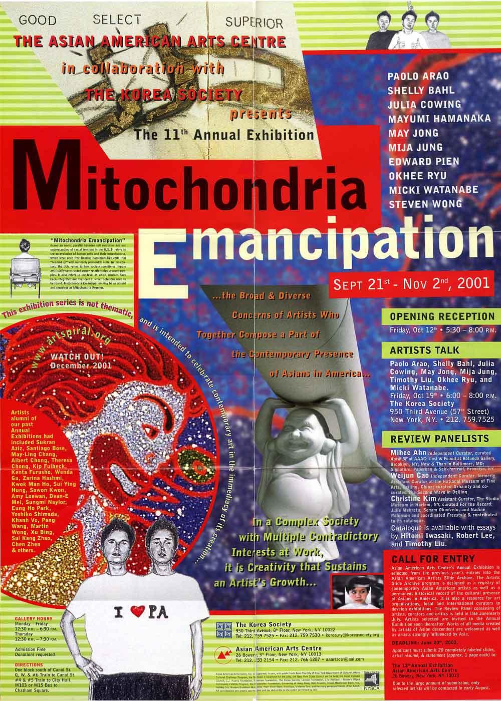 Mitochondria Emancipation poster