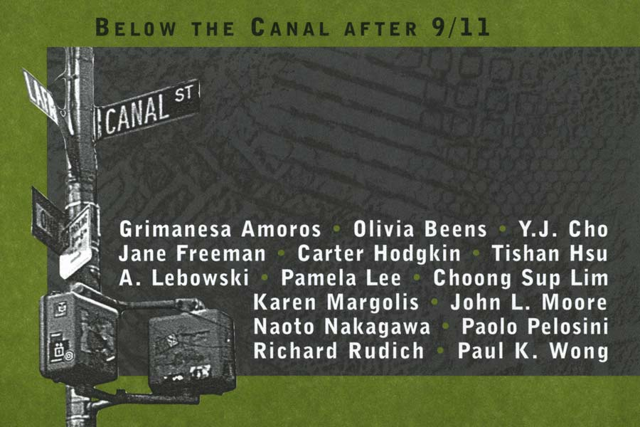 Below the Canal After 9/11, flyer, pg 1