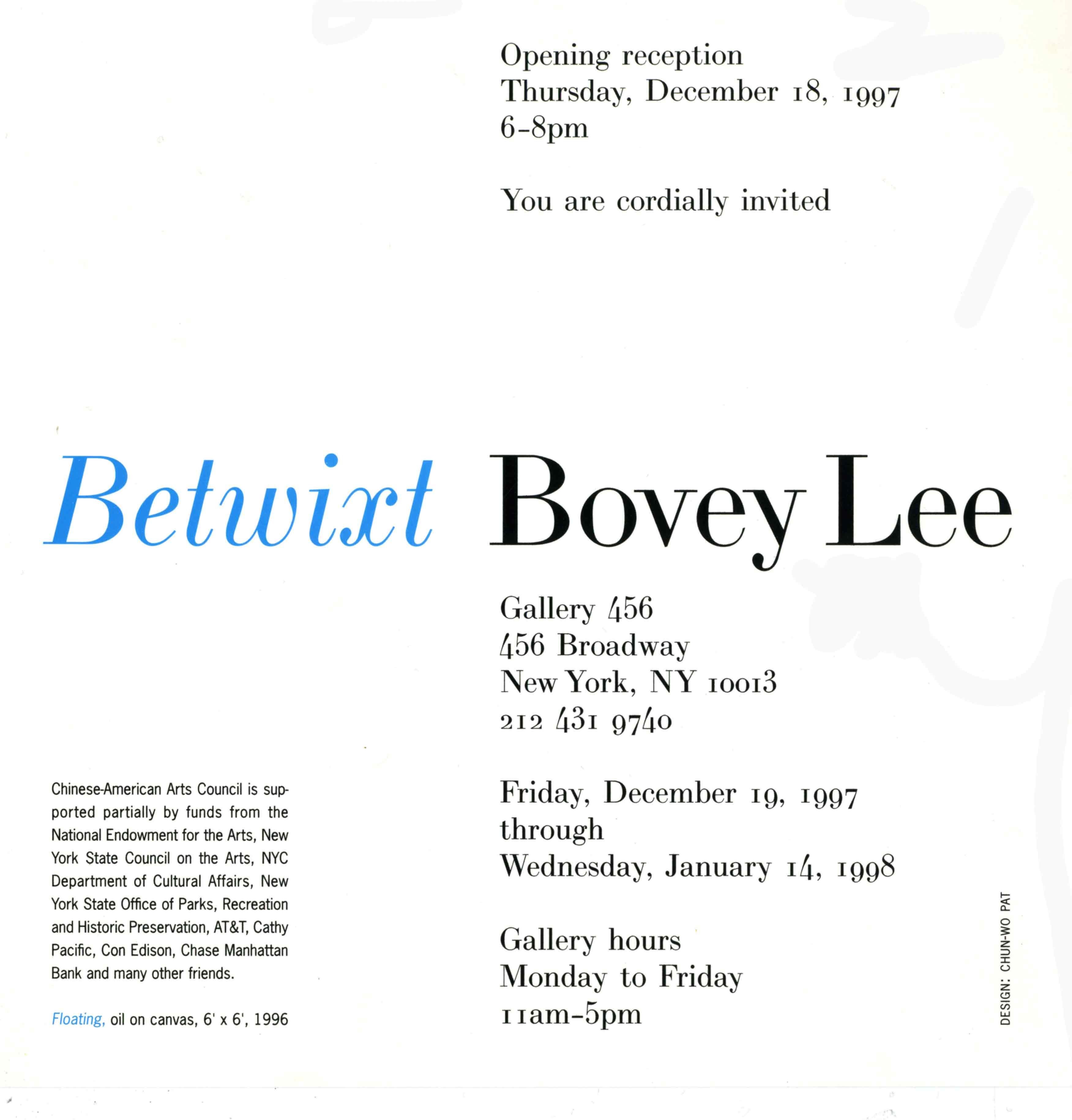 Betwixt, flyer, pg 2
