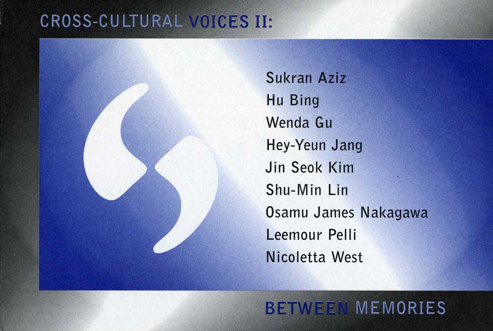 Cross-Cultural Voices II, flyer, pg 1