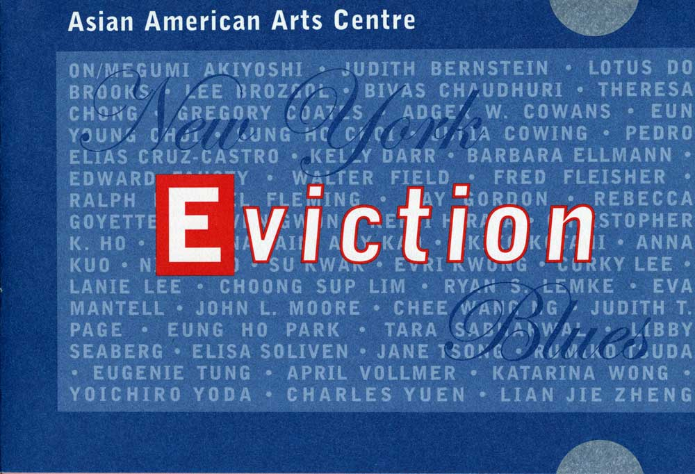 Eviction Blues flyer, pg 1