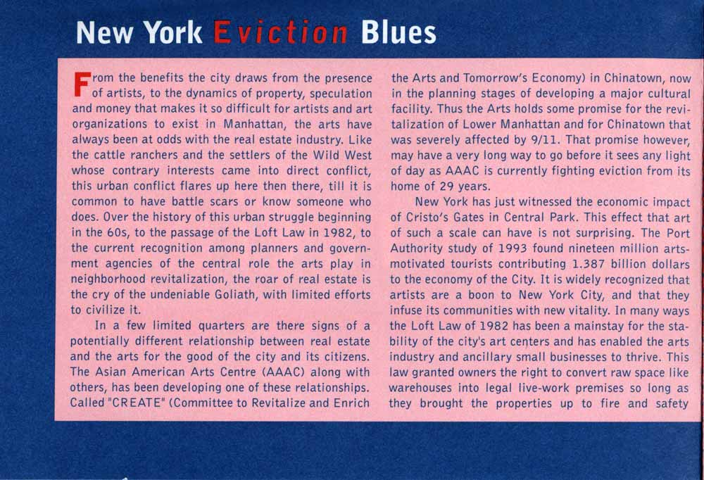 Eviction Blues flyer, pg 3