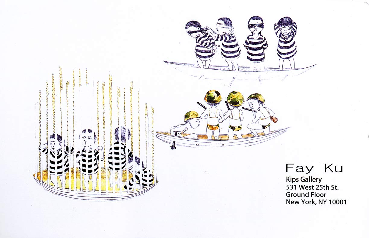 Fay Ku: A Survey of Works (2004-2008), postcard, pg 1