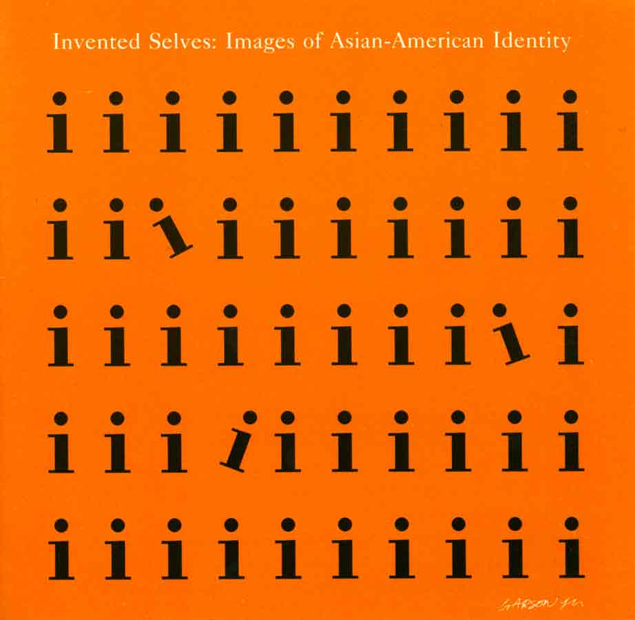 Invented Selves: Images of Asian-American Identity, flyer, pg 1